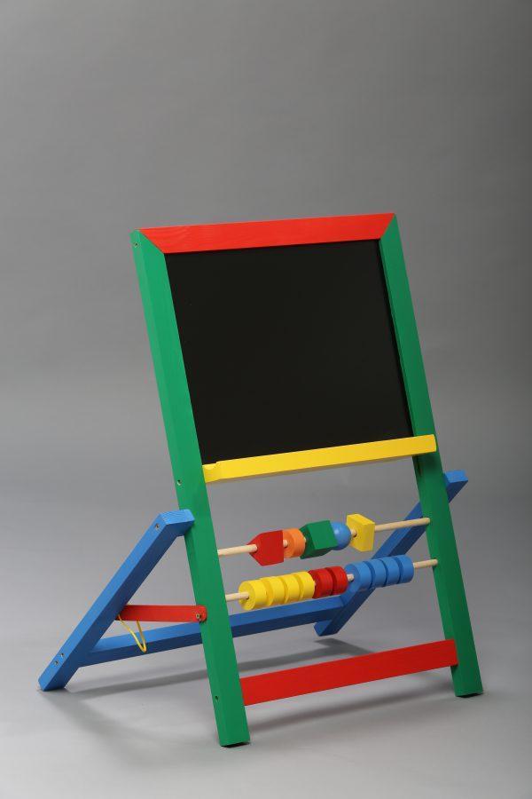 Дошка магнітна для малювання крейдою і фломастером Малюк (для підлоги)