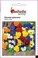 Насіння квітів Фіалка Прозорі Кристали 0,05г Садиба центр