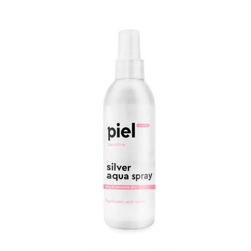 """Piel Cosmetics Silver Aqua Spray Увлажняющий спрей для лица """"Пьель косметикс"""", сухая чувствительная кожа,100мл"""