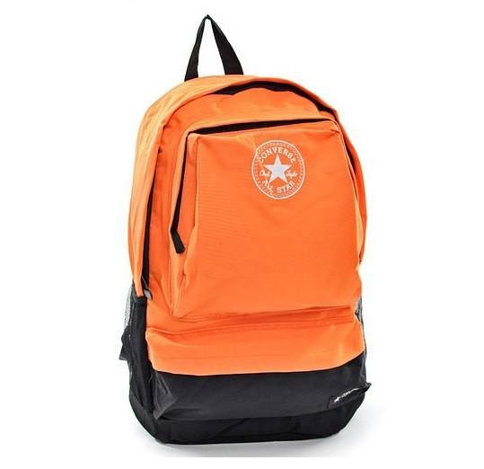 Рюкзак Converse оранжевый (45х30х18 см)  (Реплика)