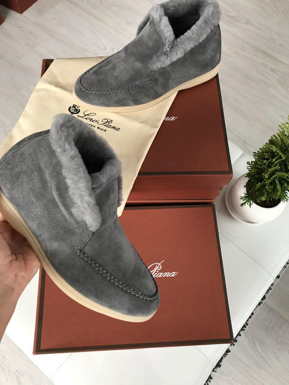Ботинки зимние женские замшевые брендовые