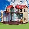 Загородный домик Happy family 012-10 с флоксовыми животными, фото 4