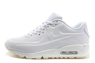 Мужские кроссовки Nike Air Max 90 VT Tweed White Leather| найк аир макс 90 белые оригинал