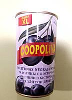 Маслины Coopoliva с косточкой 200 г (345 г), фото 1