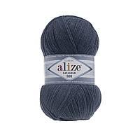 Пряжа Alize Lanagold 800 - 381 морская волна (Ализе Лана голд 800)