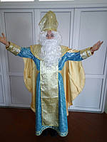 Святой Николай Люкс BL - ВМ259
