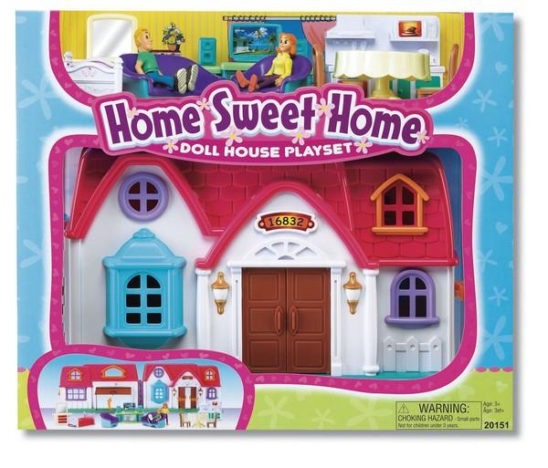 Кукольный домик, игровой набор, шт.