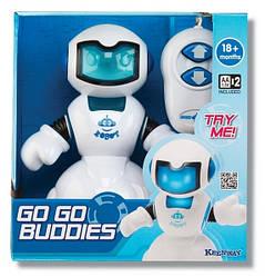 Робот-киборг, синий