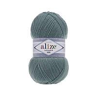 Пряжа Alize Lanagold 800 - 386 лазурный (Ализе Лана голд 800)