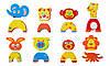 """Детские аква-пазлы """"Смешные животные"""", 8 игрушек, фото 2"""
