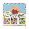 Детский игровой коврик - пазл «Интересные игрушки», 92х92 см, розово-зеленый, фото 2