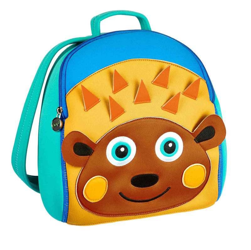 """Детский рюкзак """"Ежик- путешественник Уфик"""""""