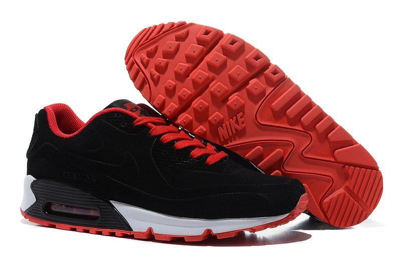 310a900c Мужские кроссовки Nike Air Max 90 VT Tweed Black Red White   найк аир макс  90