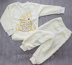 Пижамы Мишка тэдди с вышивкой, фото 2