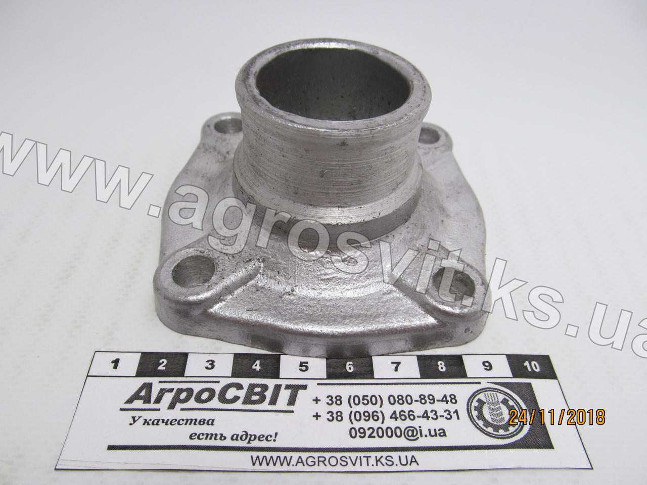 Патрубок коробки термостата ЯМЗ-236-238, 236-1306053