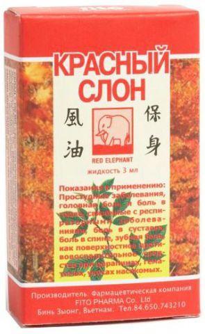 Красный Слон жидкий бальзам фито 3 мл