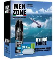 Подарунковий набір MENZONE HYDRO FORSE2016піна дбриття 200мл,!гель ддушу 250 мл, (4600104036200)