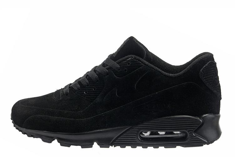 40a702f4 Мужские кроссовки Nike Air Max 90 VT Tweed All Black   найк аир макс 90  твид черные