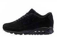 Оригинальные мужские кроссовки Nike Air Max 90 VT Tweed All Black | найк аир макс 90 твид черные