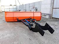 Отвал 2,5м для снега МТЗ, ЮМЗ, Т-40 (мех. поворот), фото 1