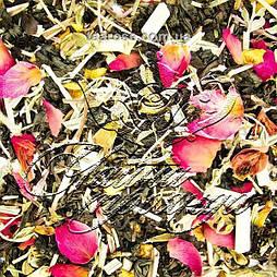 Чорний чай «Шафрановий персик»