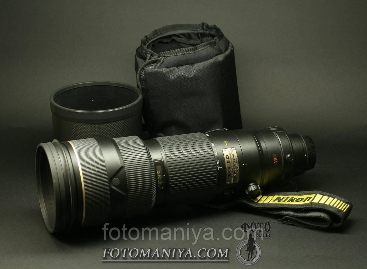 AF-S Nikkor 200-400mm f4G ED VR