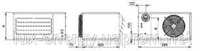 Газовые, подвесные, ультракомпактные воздухонагреватели MINIJET (17-36кВт), фото 2
