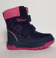 Термосапожки зимние для девочки B&G termo (Би Джи) р. 28-32 модель R191-1212