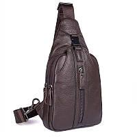 Кожаный рюкзак-сумка 4007C