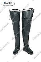 Рыбацкие сапоги черные (Код: СР-02)