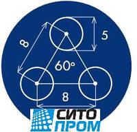 Перфорированный лист, черная сталь, круглая ячейка PC Rv5-8/3/1000x2000 Код товара: 02464