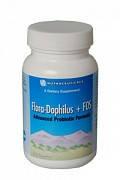 Флора Дофилус + ФОС / Flora Dophilus+FOS ВитаЛайн / VitaLine Для нормализации кишечной флоры 120 капсул