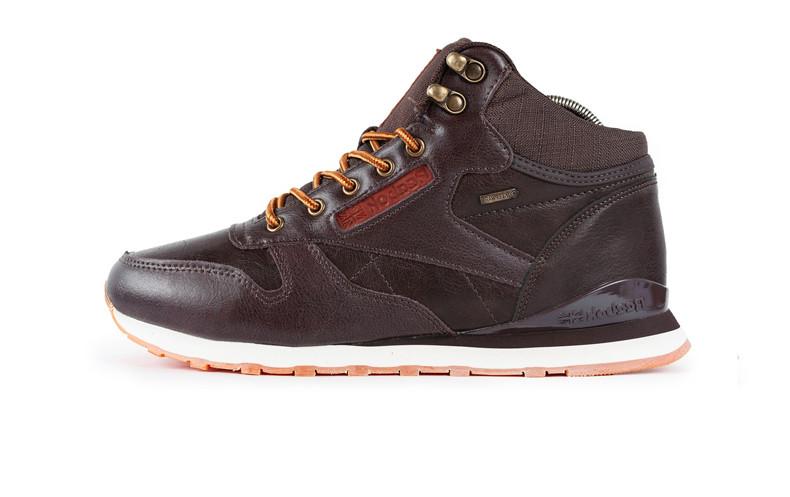 Мужские ботинки Reеbok Classic High Brown (С мехом)