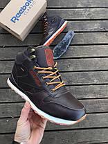 Мужские ботинки Reеbok Classic High Brown (С мехом), фото 2