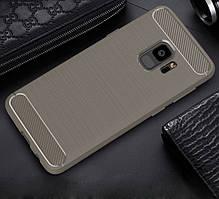 TPU чехол iPaky Slim Series для Samsung A530 Galaxy A8 (2018) Серый