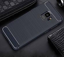 TPU чехол iPaky Slim Series для Samsung A530 Galaxy A8 (2018) Синий