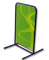 Штендер Т-образный (мимоход) каркас+баннер 600x1000