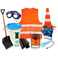 ADR-комплект для опасных грузов, которые обозначаются знаками  опасности № 3, 4.1, 4.3, 8 или 9