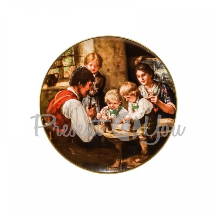 Декоративная тарелка «Хорошие времена» Gloria, d-19 см (264-1902C)