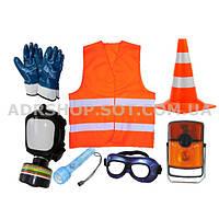ADR-комплект для опасных грузов, которые обозначается знаком  опасности № 2.3
