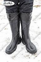 Мужские сапоги  черные (Код: С-05 охотник)