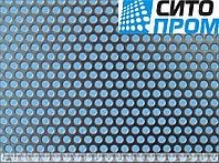 Перфорированный лист, черная сталь, круглая ячейка PC Rv6-9/1/1000x2000. Код товара: 02466