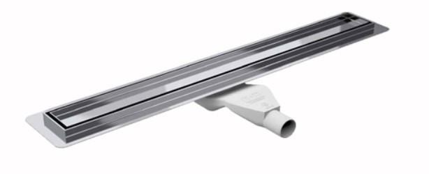Душовий канал Premium з фланцем для гідроізоляції, решітка ZONDA