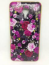 Чехол Meizu M3 Note Flowers&Diamonds