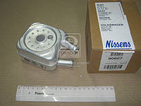 Радиатор масляный AUDI 100 (C4) (90-) 1.6 i (+)(пр-во Nissens), 90607