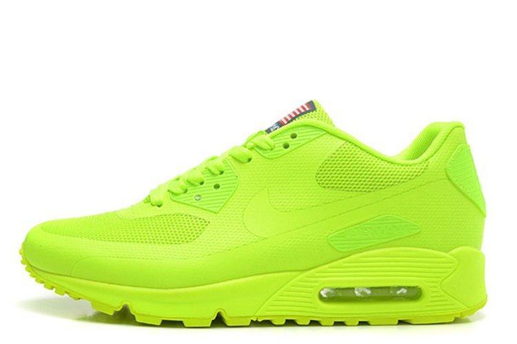 eb3c6726 Мужские кроссовки Nike Air Max 90 Hyperfuse UltraGreen USA | найк аир макс 90  салатовые 42