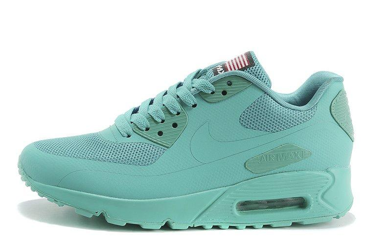662aaf3e Мужские кроссовки Nike Air Max 90 Hyperfuse Coral Blue USA найк аир макс 90  бирюзовые