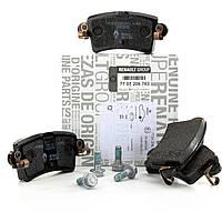 Комплект задних тормозных колодок на Рено Мастер II с 00г. / Renault ORIGINAL 7701206763