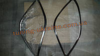 Хром накладки на передние фонари для Mercedes Sprinter 906 2006-2013