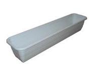 Балконний ящик для квітів 50 cм 05-білий Lamela